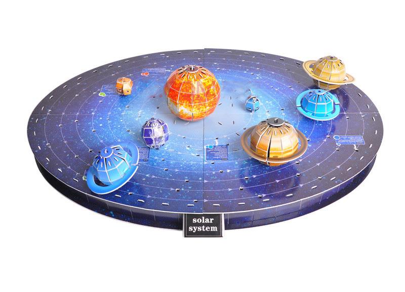 solar system of 3 d-#9