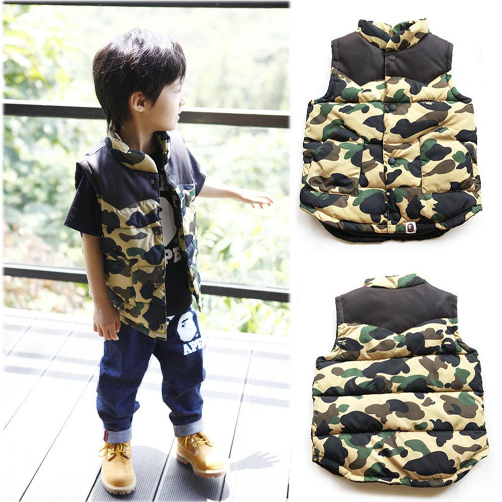 Камуфляжная Одежда Для Мальчика