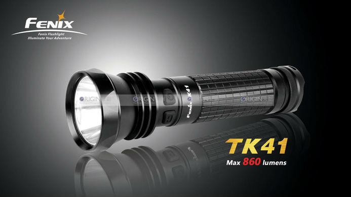 Fenix TK41 XM-L AA Battery 2-Mode LED Waterproof Tactical Flashlight Torch Free Shipping(China (Mainland))