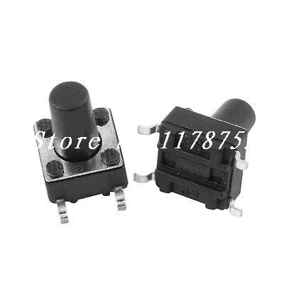 Momentary Tact Tactile Push Button Switch SMD SMT Surface Mount 6x6x9mm(China (Mainland))