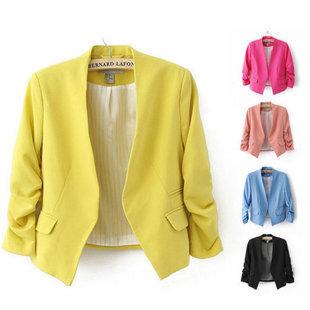 Женский пиджак Blazer Women 2015 Blazer 5 s/xl Feminino женский пиджак women blazer feminino 584bj85176