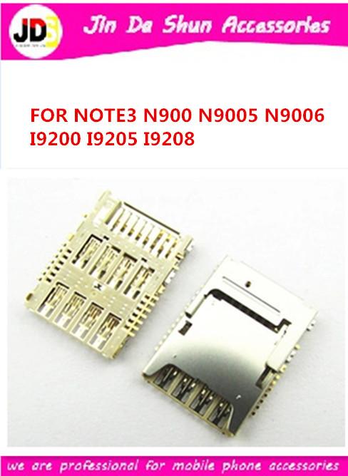 DHL 1000PCS/LOT For Samsung Galaxy Mega 6.3 i9200 i9205 i9208 note 3 n900 n9006 n9005 Sim Card Reader Holder Slot Tray