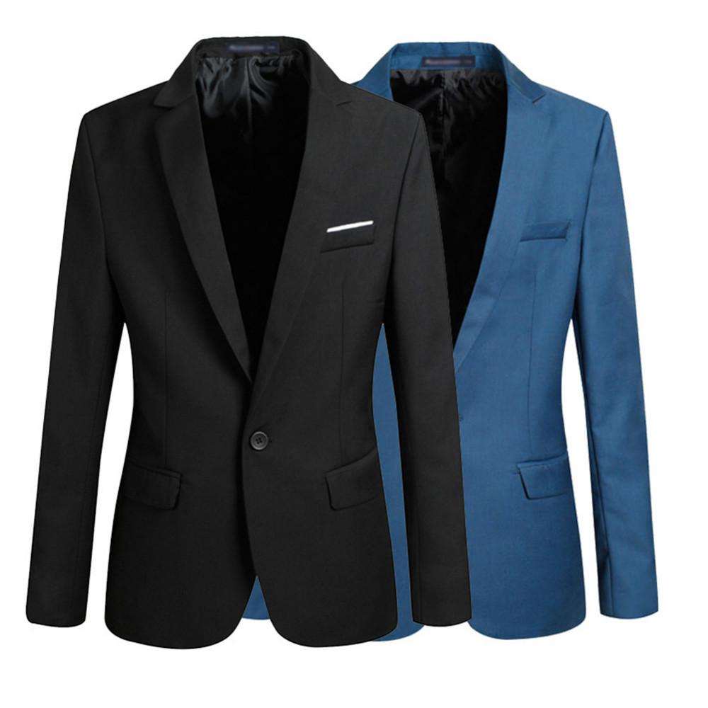 2015 Top Suit Jacket For Men Terno Masculino Suit Blazers Jackets Traje Hombre Men's Casual Blazer 2 Colors Size S-XXL MXF-01(China (Mainland))