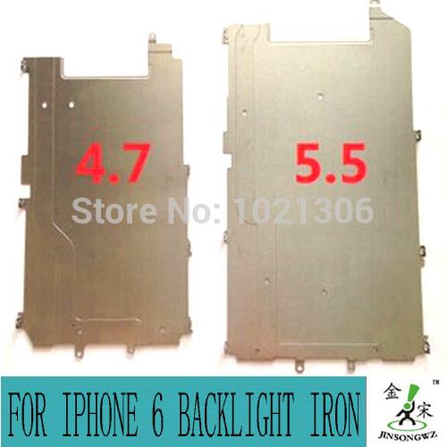 100% original LCD metal Frame Bezel For iPhone 6 6G backlight iron sheets LCD bracket iron frame free shipping JS53003-1(China (Mainland))