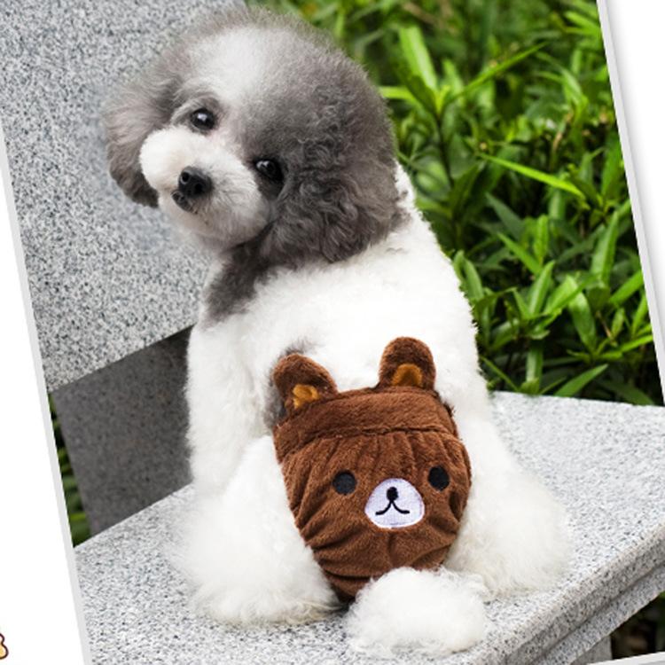 [해외]개 제품을 에 대한 여성의 애완 동물 개 강아지 의류 위생 귀..