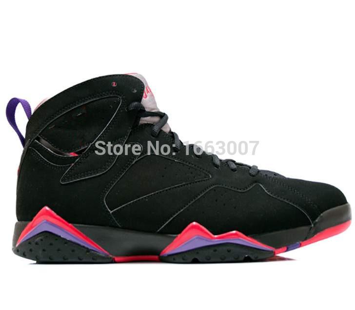 c2f9a327 2015-дешевые-продажа-7-мужские-ботинки-баскетбола ,-Raptor-черный-правда-красный-темно-уголь-клуб-фиолетовый-кроссовки -размер-8-9-10-11-12-13-мужчины-обувь.