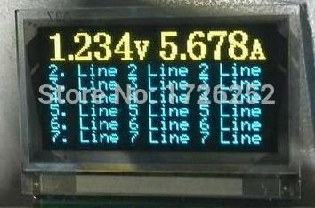 1.1 inch 31PIN Yellow Blue OLED Screen SSD1303 Drive IC 128*64(China (Mainland))