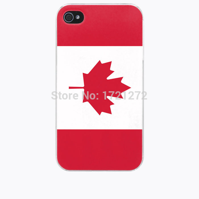 new Canada flag pattern for iphone 6 case(China (Mainland))