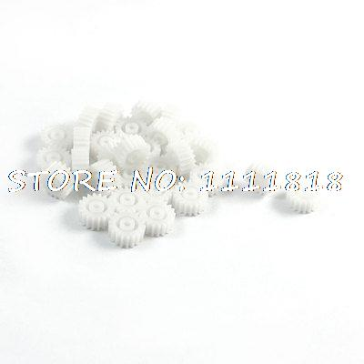 RC Model Toy 18-Teeth Single Steering Motor Spindle Gear 10mm x 2mm 30Pcs(China (Mainland))