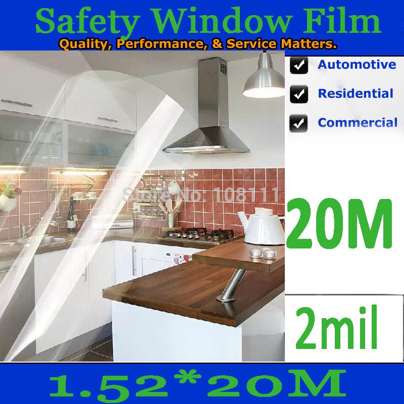 Защита от солнца для заднего стекла авто HOOOOOO 5ftx67ft/335sq/ft 1.52 m x 20 m /2mil /0.05