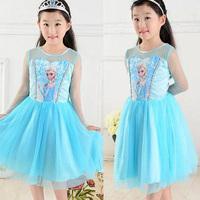 cute baby girls elsa anna rapunzel easter dress customes kid clothes toddler children clothing deguisement vetement enfant fille
