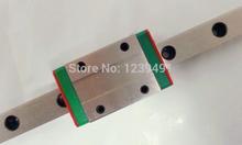 Kossel Mini MGN9 9mm miniature linear slide set: 3pcs MGN9 L-400mm linear rail+3pcs MGN9H linear block carriage XYZ cnc parts