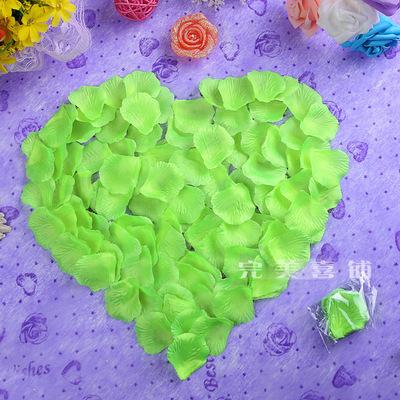 Wedding supplies arranged marriage room decoration diy simulation fake rose petals petal throwing hand(China (Mainland))