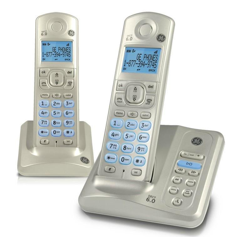 Cordless Dual Phone Cordless Phone Answering