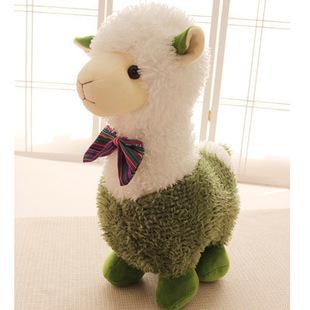Super Cute Design Alpaca Goat Sheep Stuffed Plush Toys Colorful Lover Gift 1 Piece(China (Mainland))