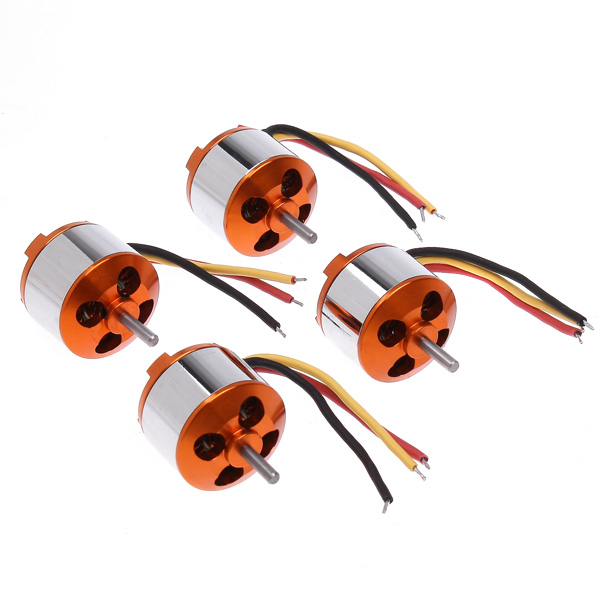 US Ship 4 * 2212 1000KV Brushless Motor 13T Outrunner Brushless Motor for RC Multicopter Xcopter(China (Mainland))