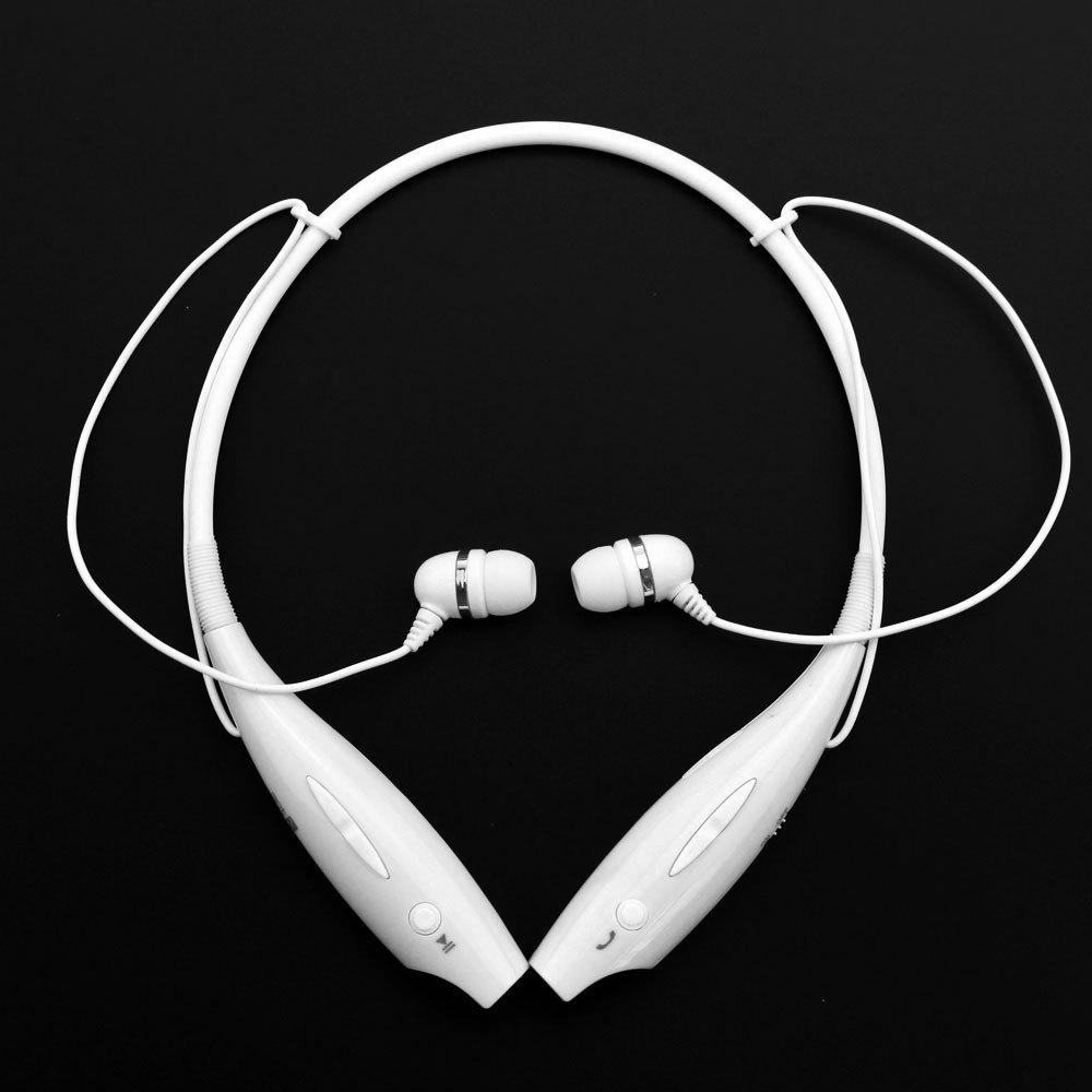 2015 New Free Ship Wireless Bluetooth Universal Sports Stereo Headset Headphone For LG Samsung ( HBS 730 White )(China (Mainland))