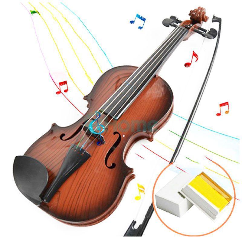 Children Kids Beginners Instrument Adjust String Simulation Violin Musical Toy HL #52298(China (Mainland))