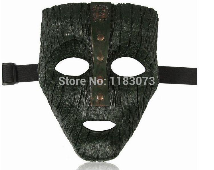 Brand New original Halloween Venetian Mardi Gras Masquerade Loki Mask Replica Movie Prop Memor Resin Masks Free Shipping(China (Mainland))