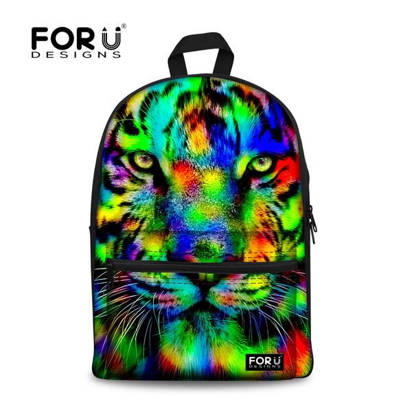 Школьный рюкзак FOR U DESIGNS 3D Bookbag Mochila C001J