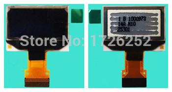 0.96 inch 30PIN Yellow Blue OLED Screen SSD1306 Drive IC 128*64 QTI306P02 FPC(China (Mainland))