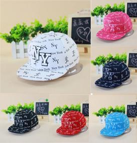 New 2015 hot NY Kids Snapback Cartoon Embroidery Children Cotton Baseball Cap Baby Boys Girl Snapback Caps Hip Hop Hats(China (Mainland))