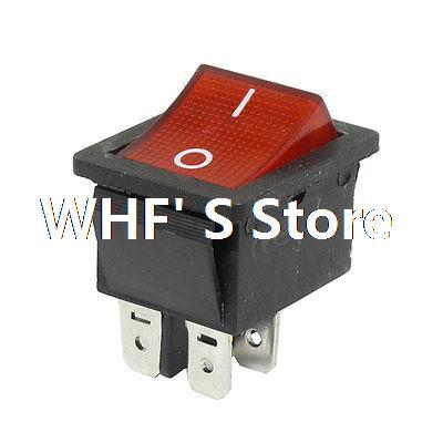 AC 250V/10A 125V/15A Double Pole Single Throw I/O Rocker Switch(China (Mainland))