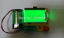 2015 новый жк-дисплей желтый зеленый подсветка low ESR метр LCR из светодиодов транзистор тестер диод триод емкость моп PNP / NPN