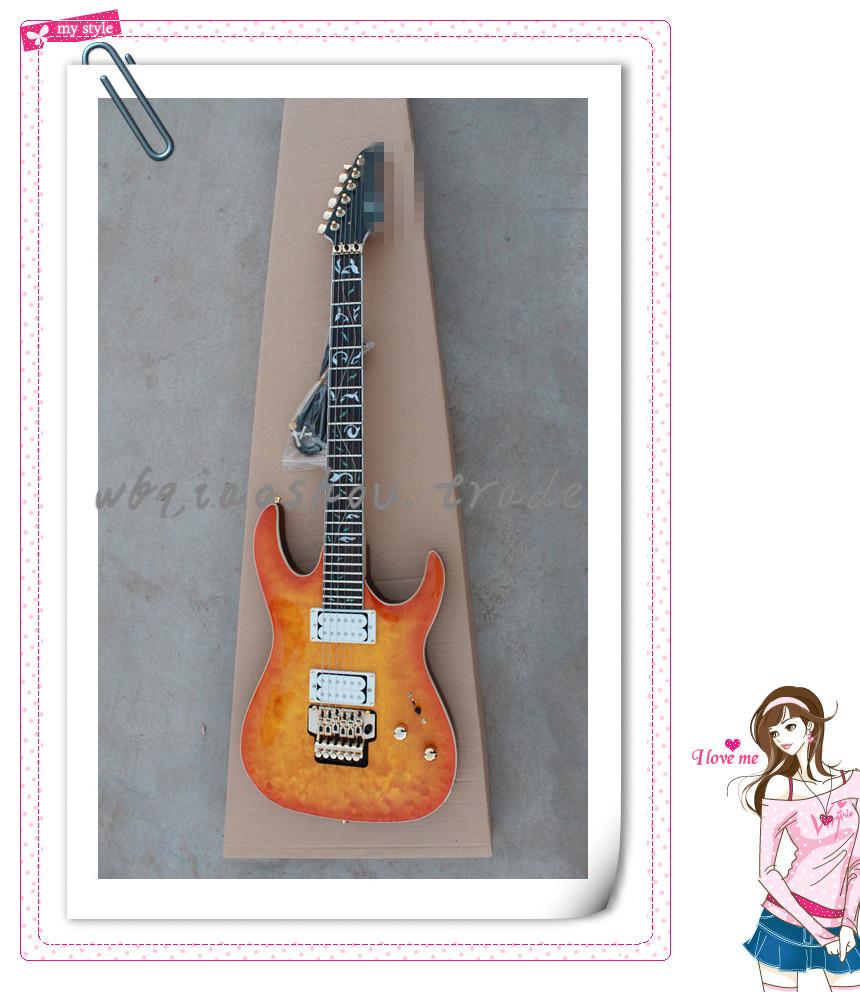 Wholesale natural rosewood finger board electric guitar(China (Mainland))