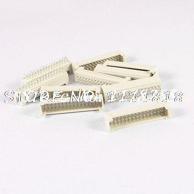 10 Pcs Dual Row 20 Pins Flat Header Socket Connector(China (Mainland))