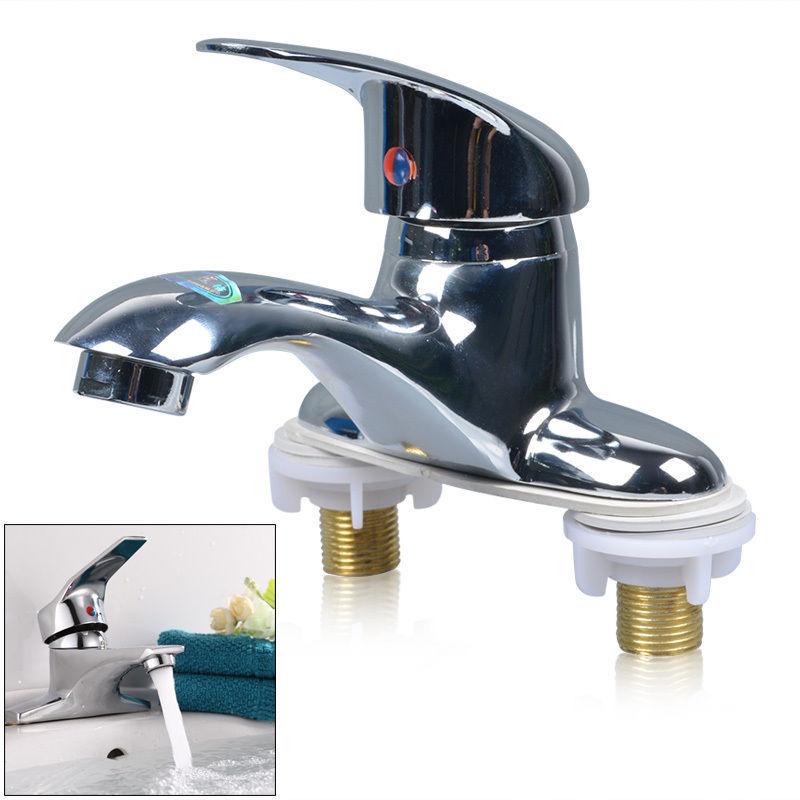 Good Service Kitchen Bathroom Basin Faucet 1 Handle 2 Holes Vanity Sink Mixer Tap 2 Holes Free Shipping(China (Mainland))