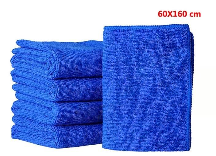 6pcs 60*160cm rag microfiber car cleaning dish towel Polishing Scrubing glass Cloth dry hair bathing towel free shipping(China (Mainland))