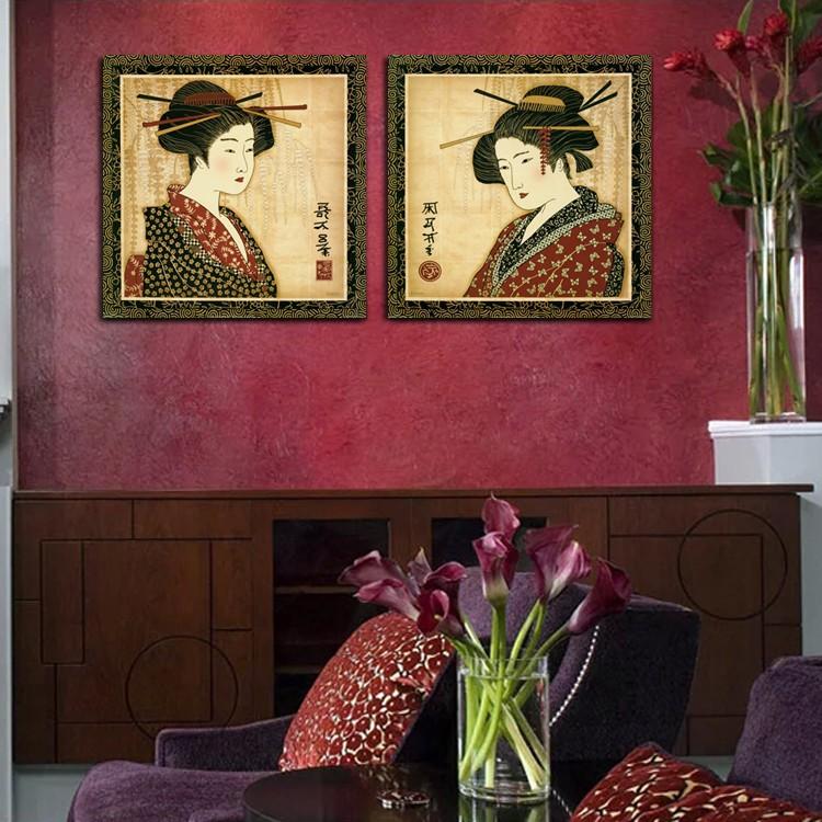 Achetez en gros peintures murales japonaise en ligne des for Decoration murale japonaise