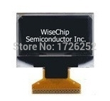 1.3 inch White OLED Screen SH1106 Drive IC 128*64 I2C/SPI/Parallel Interface(China (Mainland))