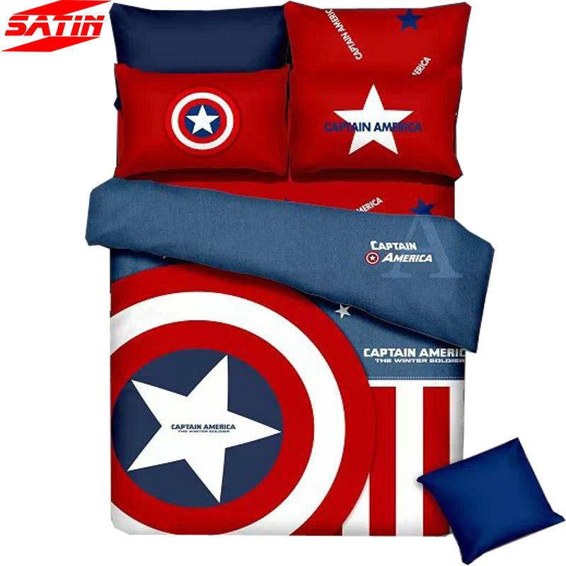 Popular Captain America Quilt Buy Cheap Captain America