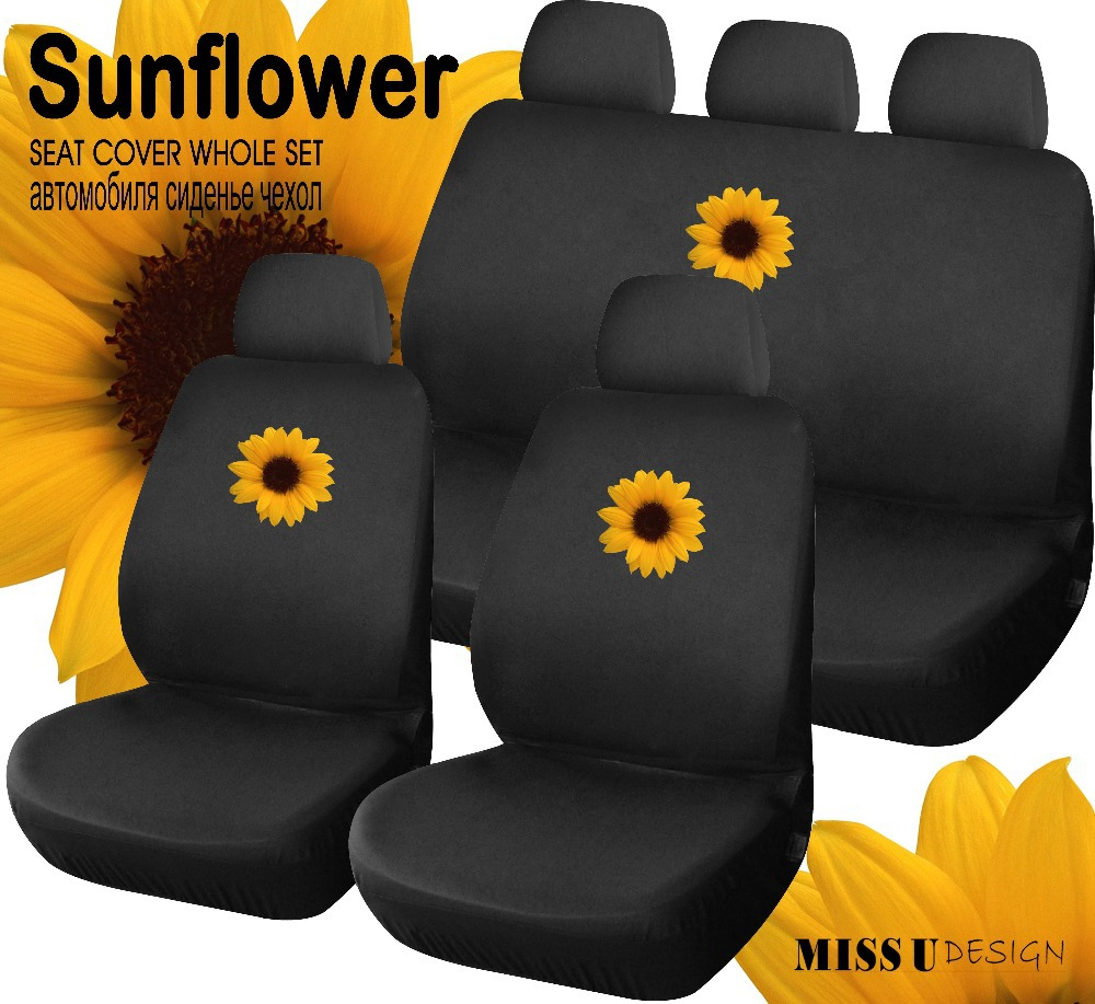 Online Get Cheap Sunflower Seat Covers Aliexpress