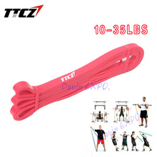 New Red 1.3cm Width Resistance Bands Yoga Pull Up Assist Bands Crossfit Exercise Men&Woman Body Fitness