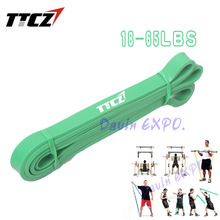 NEW Green 1.9CM Width Crossfit Exercise Pull Up Assist Band Body Fitness Loop Resistance band DC-211