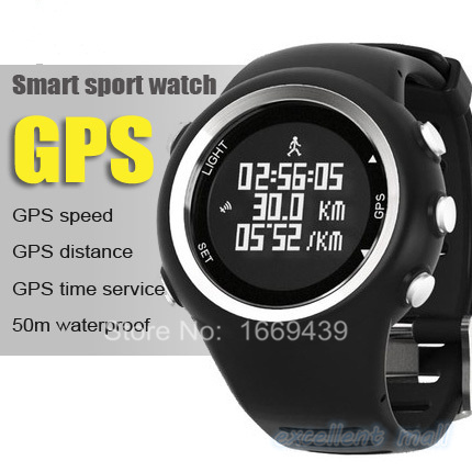 GPS Navigation sports watch digital Running Hiking Cycling watches with Auto Time Zone Pedometer Dual Time(China (Mainland))