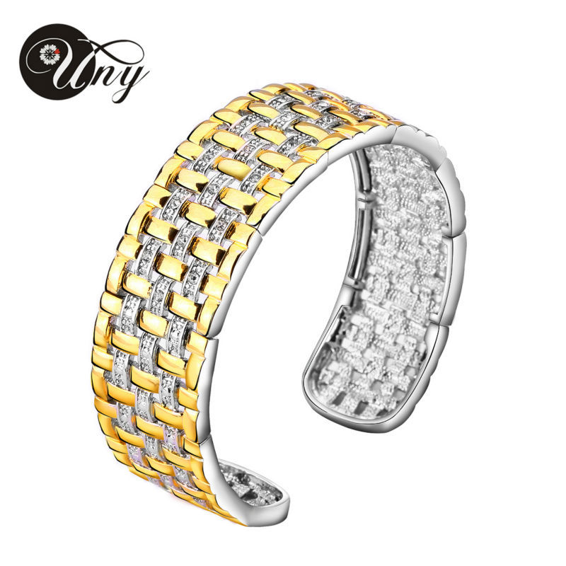 2014 New Arrival / free shipping / alloy bangles DAVID Crystal mosaic bracelet / Bangle for women / fashion jewelryBR75476(China (Mainland))