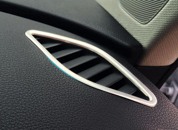 2014 audi a3 stainless steel trim air conditioning vent for Pare vent interieur decoration