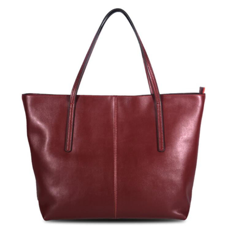New 2015 fashion women messenger bag brief cowhide women handbag women leather handbag natural skin women tote shoulder bag(China (Mainland))