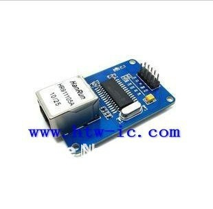 2pcs,ENC28J60 Network Module+Schematic For 51 STM32 AVR, ,Programmer,&Free Shipping(China (Mainland))