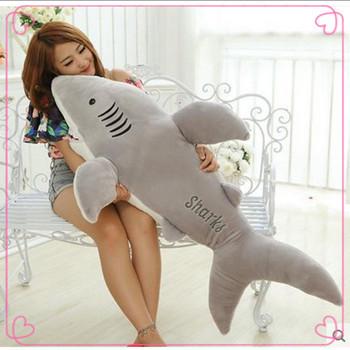Большой плюшевые животных акула игрушки lembrancinha де феста infantil подарок на день рождения дешевые игрушки рождественский подарок тряпичная кукла аниме плюшевые