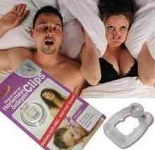 1pc/lot Magnets Silicone Anti-snoring Nose Clip Silicone Anti Snoring Aid Snore Stopper Nose Clip Device Anti-ronco clipe nasal
