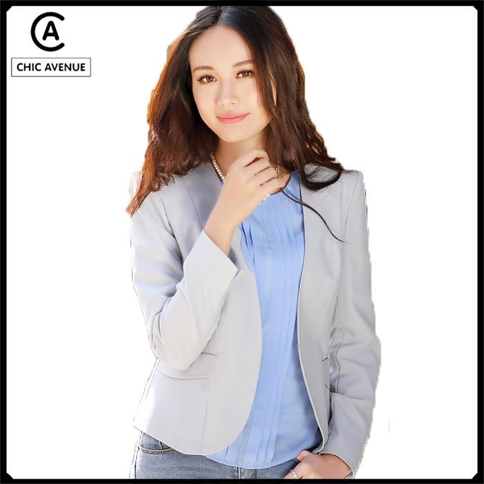 Collarless Jacket Pattern Jacket Classic Collarless