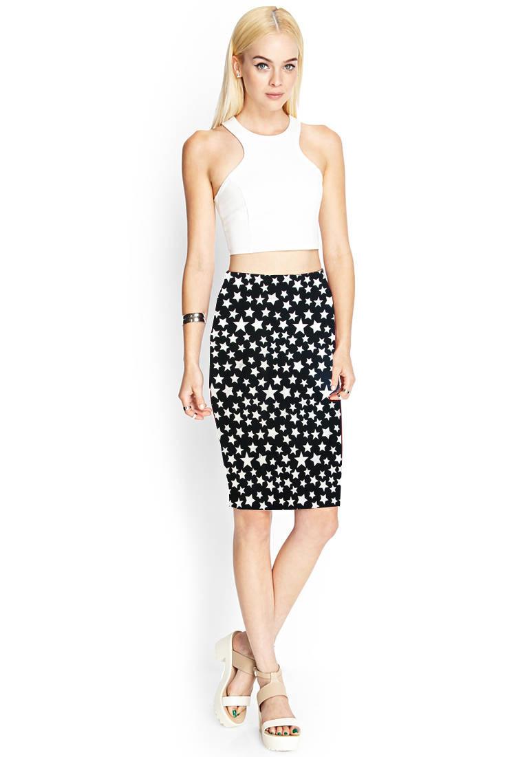 2015 summer fashion printing skirts pencil