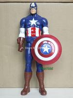 "Marvel Avengers Titan Hero Series Captain America 12"" Action Figure Loose"