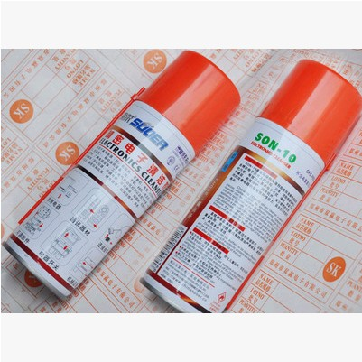 Precision Electronics Cleaner SON-10 equipment cleaning agent switch / potentiometer oil cleaners(China (Mainland))