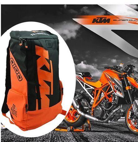 Мотоциклетная кожаная сумка для сидений KTM